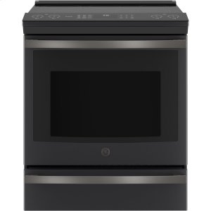 "GE ProfileGE PROFILEGE Profile™ 30"" Smart Slide-In Front-Control Induction and Convection Range"
