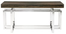 Jarrett Console Table Wood Top and Metal Base