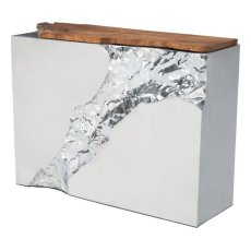 Luxe Console Table Natural&ss Product Image