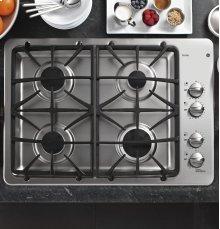 """GE Profile™ Series 30"""" Built-In Gas Cooktop - Display Model"""