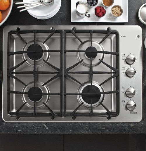 "GE Profile Series 30"" Built-In Gas Cooktop (Scratch & Dent)"