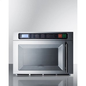 SummitDual Magnetron Commercial Microwave In Stainless Steel