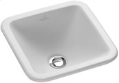 Drop-in washbasin (square) Angular - White Alpin