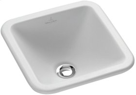 Drop-in washbasin (square) Angular - Pergamon CeramicPlus
