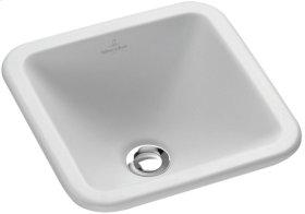 Drop-in washbasin (square) Angular - White Alpin CeramicPlus