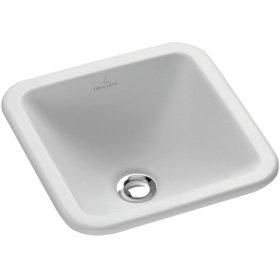 Drop-in washbasin (square) Angular - Pergamon CeramicPlus
