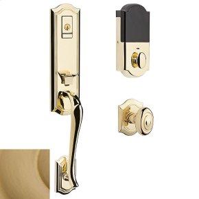 Vintage Brass Evolved Bethpage Knob Handleset