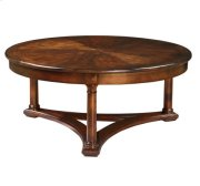 European Legacy Round Coffee Table Product Image