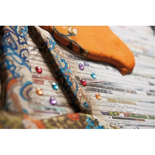 Camara Batik and Newspaper Bird Wall Decor