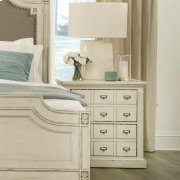 Huntleigh - Two Drawer Nightstand - Vintage White Finish Product Image