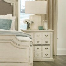 Huntleigh - Two Drawer Nightstand - Vintage White Finish