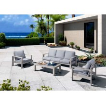 Renava Dunes Outdoor Grey Sofa Set