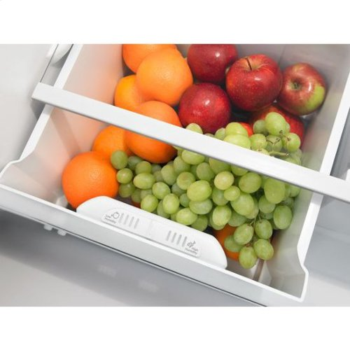 30-inch Wide Top-Freezer Refrigerator with Gallon Door Storage Bins - 18 cu. ft. - white