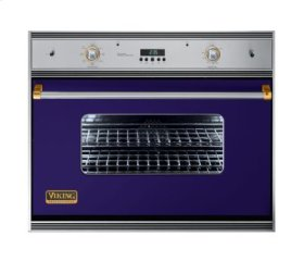 """36"""" Single Electric Oven, Brass Accent"""