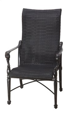 Grand Terrace Woven High Back Dining Chair