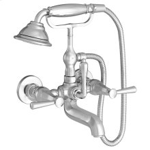 Fitzgerald Wall Mount Tub Filler - Polished Chrome