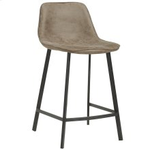 Buren 26'' Counter Stool, set of 2, in Vintage Brown