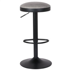 Juno Gaslift Bar Stool, Vintage Mist Gray