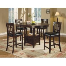 The Lavon Collection 5 Piece Counter Height Dining Room Set