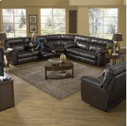 Extra Wide Reclining Sofa - Chestnut Product Image