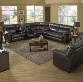 Extra Wide Reclining Sofa - Putty