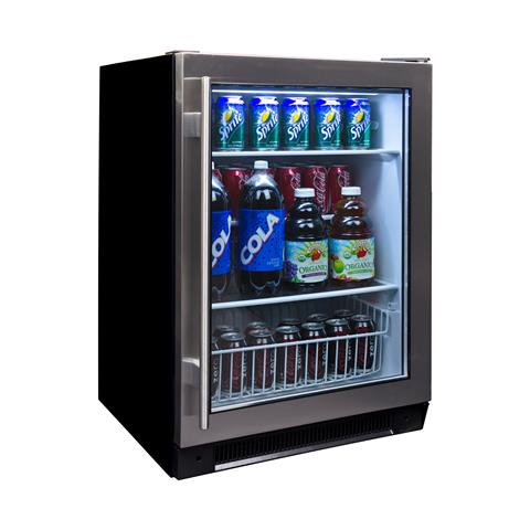 hidden additional 150can capacity builtin beverage center