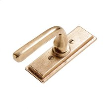 Stepped Tilt & Turn Window Escutcheon - EW308 Bronze Dark Lustre