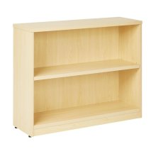 """36wx12dx30h 2-shelf Bookcase With 1"""" Thick Shelves"""