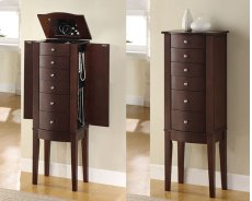"""Merlot"" Jewelry Armoire Product Image"