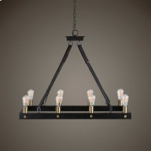 Marlow, 8 Lt Rectangle Chandelier