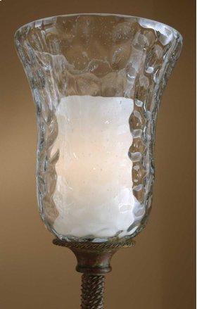GALEANA, OPTIONAL GLASS CANDLE