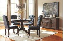 Trudell - Dark Brown 6 Piece Dining Room Set
