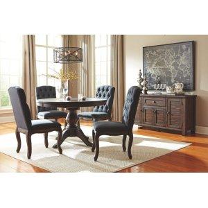 Ashley Furniture Trudell - Dark Brown 6 Piece Dining Room Set