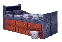 Six Drawer Under Bed Storage Unit