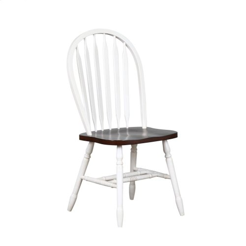 DLU-820-AW-2  Andrews Arrowback Dining Chair  Set of 2