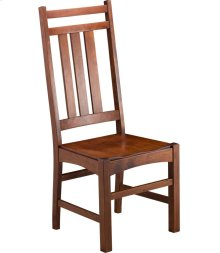 Mission Slat Side Chair - Wood Seat