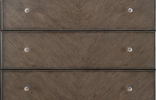 Apex Completed Upholstered Platform Bed, King 6/6