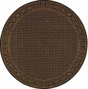 HARD TO FIND SIZES CHATEAU RM01 ONYX ROUND RUG 6'4'' x 6'4''