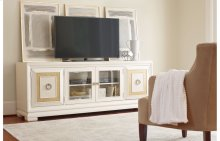 Tower Suite - Pearl Finish Entertainment Console