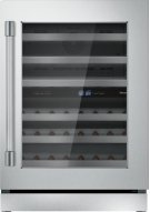 24 inch UNDER-COUNTER WINE RESERVE WITH GLASS DOOR T24UW920RS Product Image