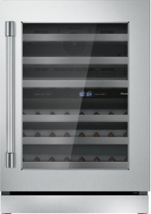24 inch UNDER-COUNTER WINE RESERVE WITH GLASS DOOR T24UW920RS