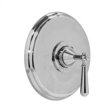 """3/4"""" Thermostatic Shower Set - Deluxe Plate with Aria Handle"""