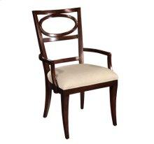 Central Park Oval Back Arm Chair