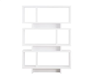 Reticle Bookcase White