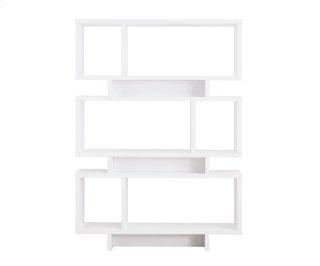 Reticle Bookcase White
