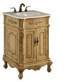 24 in. Single Bathroom Vanity set in Antique Beige Product Image