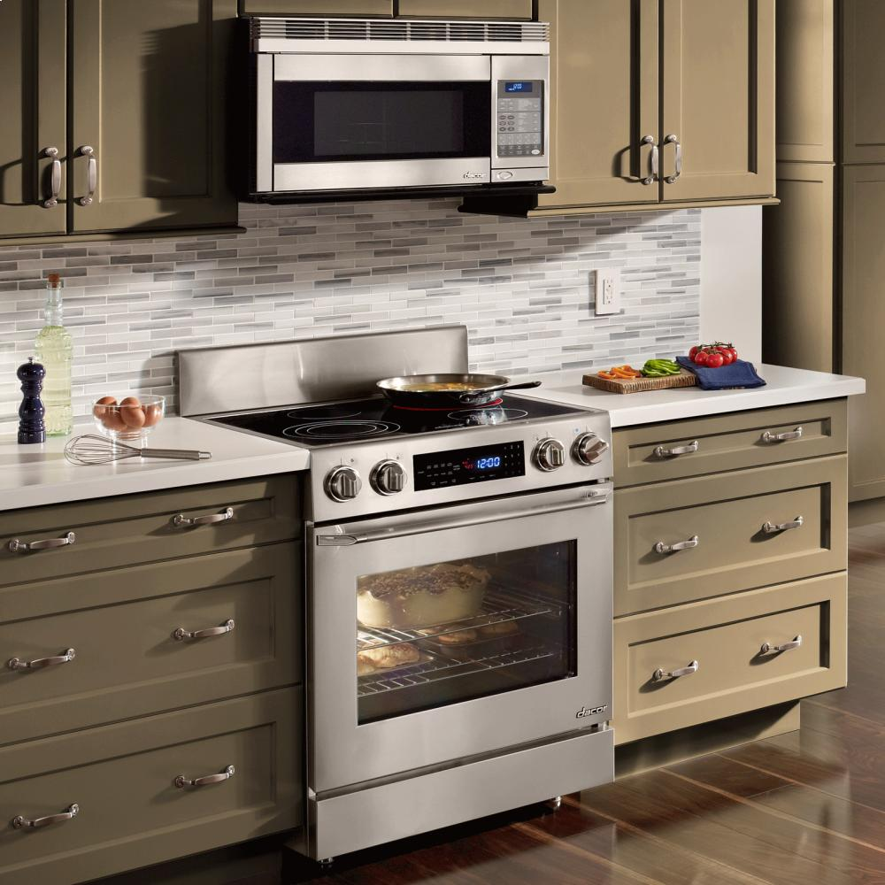 Heritage 30 Over The Range Convection Microwave Hood In Stainless Steel