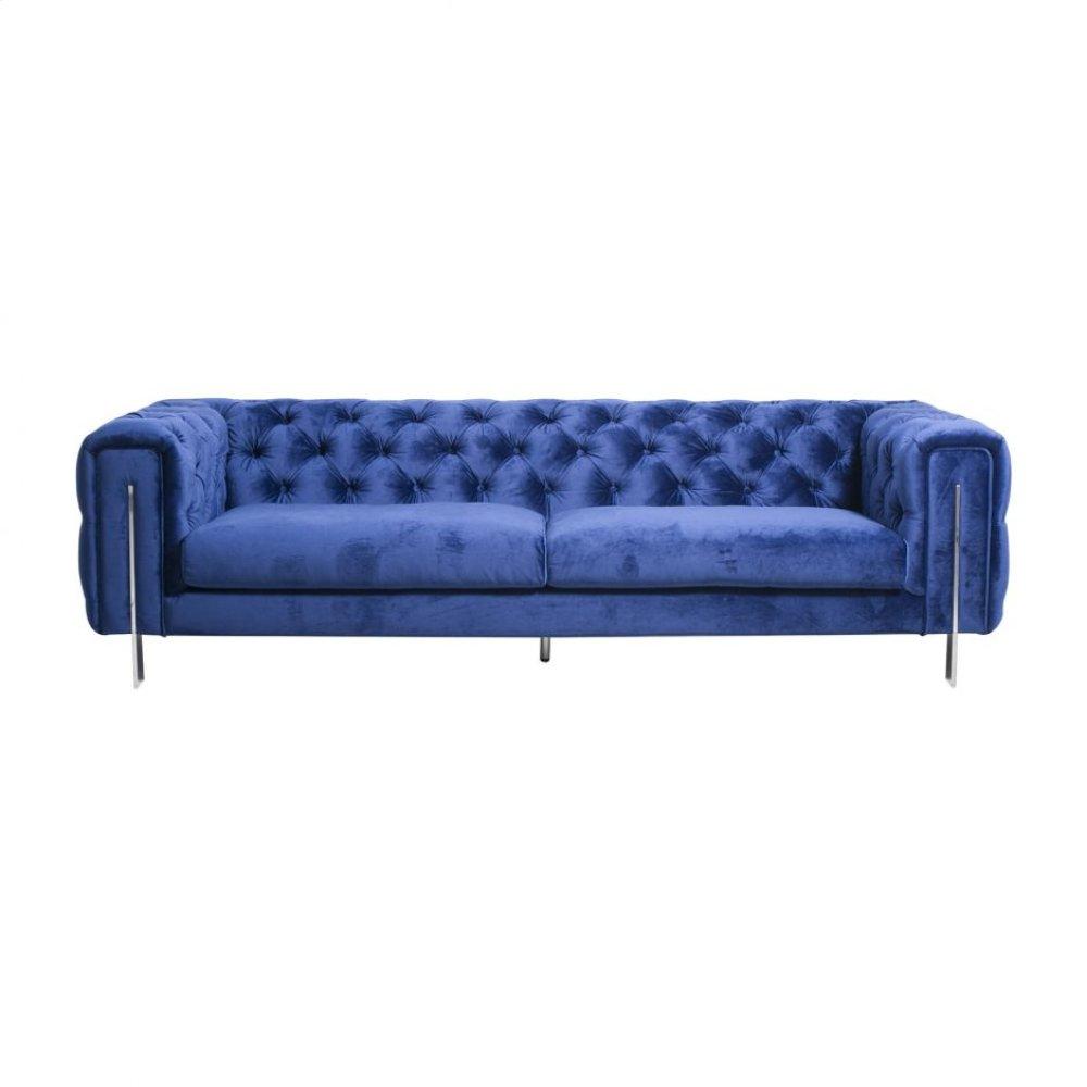 Courtney 3 Seat Sofa Royal Blue