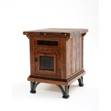 Red River - Tombstone 1 Door 1 Drawer Nightstand