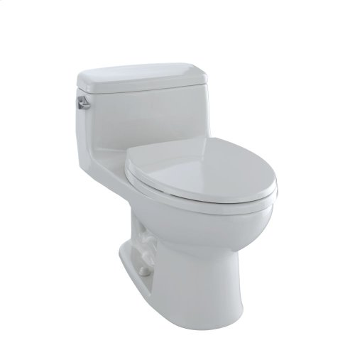 Eco Supreme® One-Piece Toilet, 1.28 GPF, Elongated Bowl - Colonial White